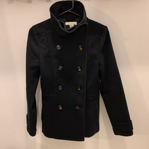 Womens H&M Navy Peacoat - Size 4
